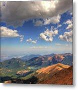 Pikes Peak Summit Metal Print by Shawn Everhart