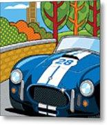 Pittsburgh Vintage Grand Prix Metal Print by Ron Magnes