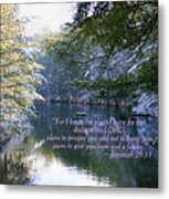 Plans Of Hope Metal Print by Debra Straub
