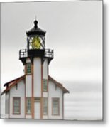 Point Cabrillo Light Station - Mendocino Ca Metal Print by Christine Till