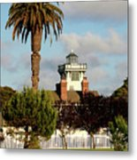Point Fermin Light - San Pedro - Southern California Metal Print by Christine Till
