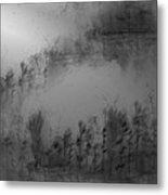 Pond By Moonlight Metal Print by John Krakora