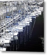 Port Parking Metal Print by John Rizzuto