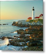 Portland Head Light No. 2  Metal Print by Jon Holiday
