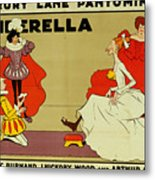 Poster For Cinderella Metal Print by Tom Browne