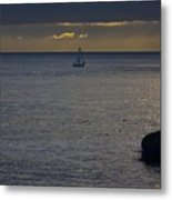 pr 237 - Evening Sail Metal Print by Chris Berry