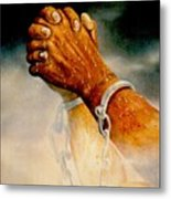 Praying Hands Metal Print by George Combs