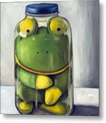 Preserving Childhood Upclose Metal Print by Leah Saulnier The Painting Maniac