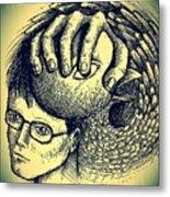 Prevent The Free Expression Metal Print by Paulo Zerbato