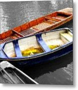 Primary Colors Metal Print by Roberto Alamino