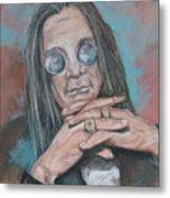 Prince Of Darkness Metal Print by Sandra Valentini