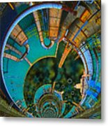 Processing Point 1 Metal Print by Wendy J St Christopher