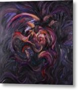 Purple Passion Metal Print by Nadine Rippelmeyer