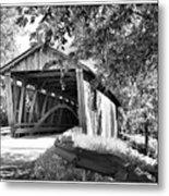 Quinlan Bridge Metal Print by Deborah Benoit
