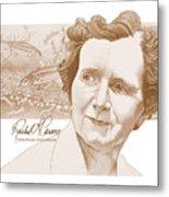 Rachel Carson Metal Print by John D Benson