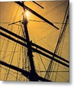Raise The Sails Metal Print by Lauri Novak