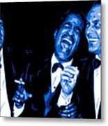 Rat Pack At Carnegie Hall Metal Print by DB Artist