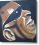 Ray Charles Metal Print by Toni Berry