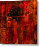 Red Odyssey Metal Print by Pat Saunders-White