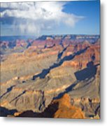 Red Storm Rising Metal Print by Mike  Dawson