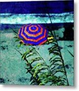 Red-white-blue Metal Print by Susanne Van Hulst
