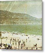 Redondo Beach La Metal Print by Kevin Bergen