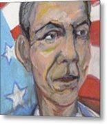 Reelecting Obama In 2012 Metal Print by Derrick Hayes