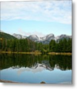 Refections Metal Print by Brent Parks
