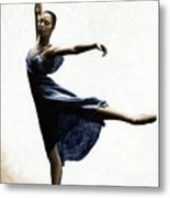 Refined Grace Metal Print by Richard Young