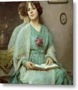 Reflections Metal Print by Ethel Porter Bailey