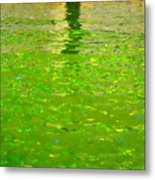 Reflections On Cambridge Metal Print by Roberto Alamino