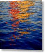 Reflections On Kobe Metal Print by Roberto Alamino