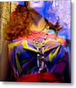 Retro Fashion Metal Print by Colleen Kammerer