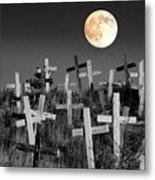 Reverent Moonlight.... Metal Print by Al  Swasey