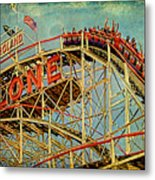 Riding The Cyclone Metal Print by Chris Lord