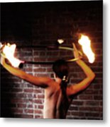Ring Of Fire Metal Print by Steven  Digman