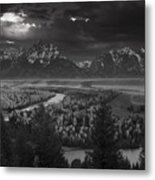 River Thru The Mountains Metal Print by Andrew Soundarajan