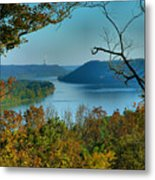 River View I Metal Print by Steven Ainsworth