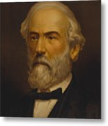 Robert E Lee Metal Print by War Is Hell Store