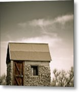 Rock Shed Metal Print by Marilyn Hunt