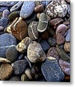 Rocks Metal Print by Roberto Alamino