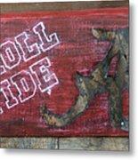 Roll Tide - Large Metal Print by Racquel Morgan