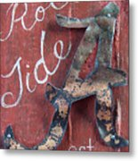 Roll Tide Metal Print by Racquel Morgan