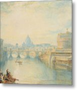 Rome Metal Print by Joseph Mallord William Turner