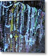 Rosary Metal Print by Angela Wright