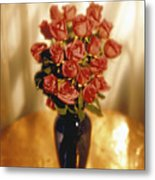 Roses Metal Print by Tony Cordoza