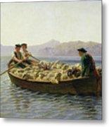 Rowing Boat Metal Print by Rosa Bonheur