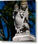 Royal Lion Metal Print by Christopher Holmes