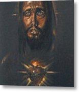Sacred Heart Metal Print by Tommy  Winn