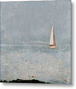 Sail Away Metal Print by Colleen Kammerer